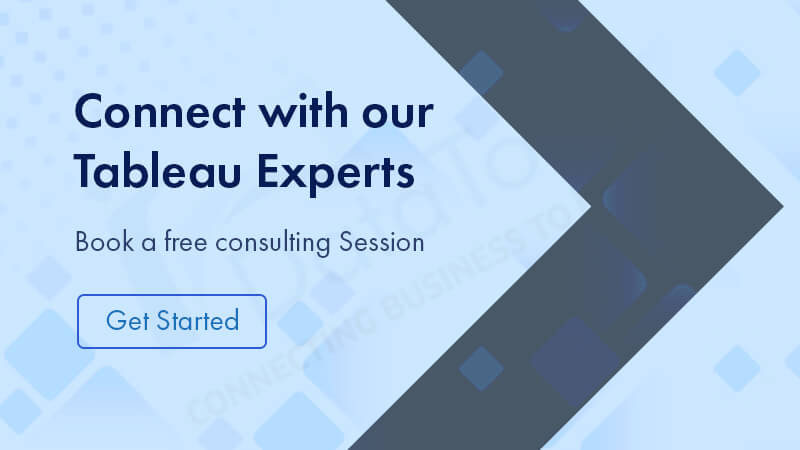 connect with Tableau experts